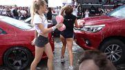 Палави чистници на автомивка // Car Wash Japfest 2016