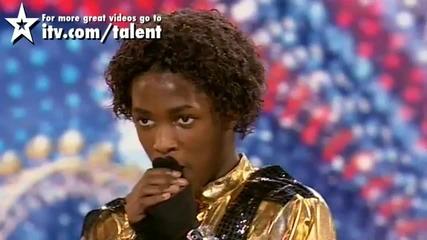 Невероятно изпълнение - Britains Got Talent 2010 - Michael Jackson