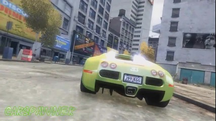 Gta 4 Pc Cm - Bugatti Veyron [ Hd _ Visualiv _ Realizmiv Enb ]
