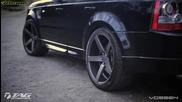 Range Rover с джанти Vossen