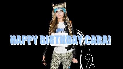 Happy Birthday Cara!