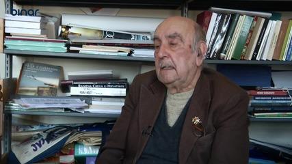 Царският офицер Никола Рухчев разказва за войната (1945 г.) - Радио Бинар