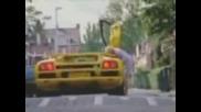 Lamborgini speed bump