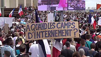 France: Thousands demonstrate in Paris against health passes, mandatory COVID vaccination