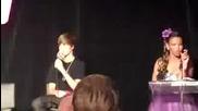 Justin Bieber Backstage Mmva 2010 interview )