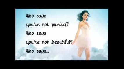 Selena Gomez-who Says [cелена Гомез-кой казва]