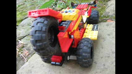 lego off-road bugy after 5 years