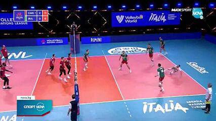 Канада разочарова България във волейбола