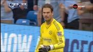 ВИДЕО: Първото полувреме на Манчестър Сити - Челси