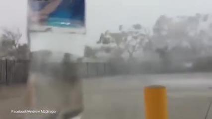 Какво е да се озовеш в центъра на торнадо