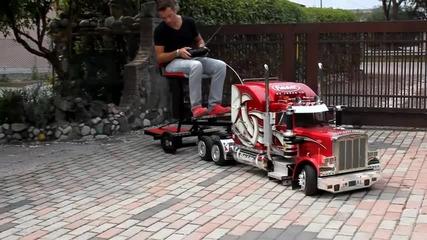 Камионче за пораснали деца