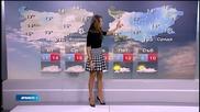 Прогноза за времето (18.11.2014 - обедна)