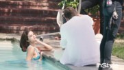Selena Gomez Instyle September Issue - Behind The Scenes