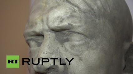 Poland: Marble bust of Adolf Hitler from 1942 discovered in Gdansk