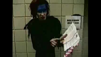 Marilyn Manson Backstage Footage