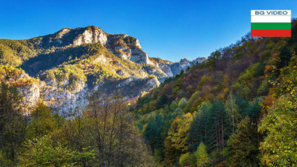 Червената стена - най-високата скала в Родопа планина