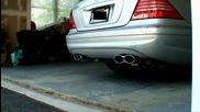 Ttmotorsports - Mercedes S600 V12 Biturbo - Meisterschaft Exhaust - Cold Start