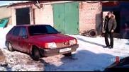 Бързо разглобяване на кола- Русия
