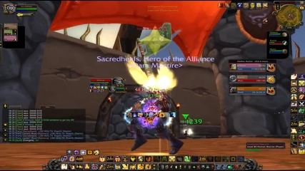 Very Close Kfc Vs Kitty Cleave Fight!! (world of Warcraft Gameplay Pvp)