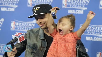 Stephen Curry: My Daughter Gives Me Something to Play and Live for