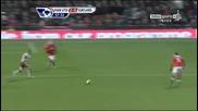 Манчестър Юнайтед 2 - 0 Съндърланд Димитър Бербатов Втори Гол *hq*