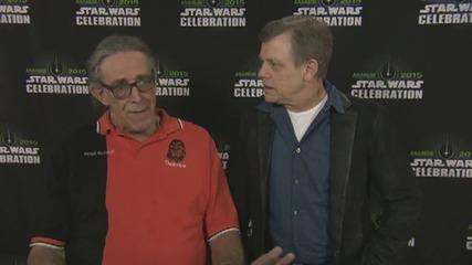 Star Wars Celebration: Mark Hamill And Peter Mayhew