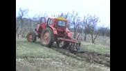 Трактор Т - 40 Оре И Буксува Много Яко 1