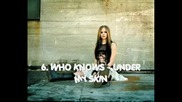 Avril Lavigne - 10 Of The Best Songs