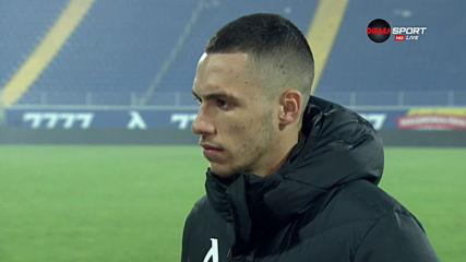 Иванов: Труден мач, Витоша се защитаваше с всички футболисти