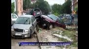Проливни дъждове и наводнения в България
