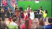 Violetta 3: Матилда и момичетата пеят Supercreativa (еп.57) + Превод