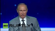 Russia: Putin addresses all-new Sochi elite school pupils on nation's Knowledge Day