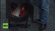 Ukraine: Radical Party's 'Tariff Maidan' continues camping on Kiev's streets