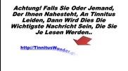 Tinnitus Wunder - Tinnitus Holistisch Heilen