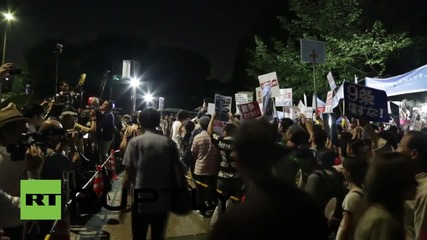 Japan: Anti-war protests fume against 'militarism' of PM Abe
