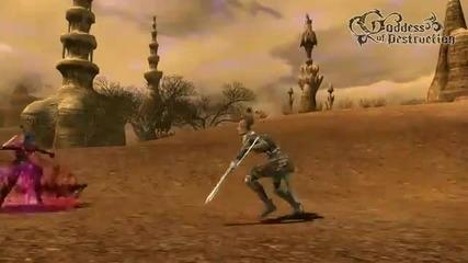 Lineage 2 Goddess of Destruction Dark Elf Dagger