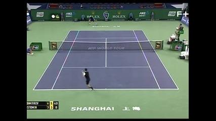 Григор с лека победа над Истомин в Шанхай