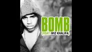 Превод * Chris Brown ft. Wiz Khalifa - Bomb [ Bass Boosted ]