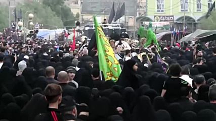 Iraq: Millions of pilgrims set off to Karbala for Arbaeen