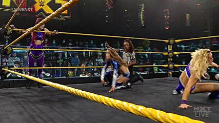Io Shirai & Zoey Stark vs. The Robert Stone Brand: WWE NXT, June 22, 2021