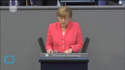 Merkel's Awkward Moment