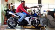 Comparativa maxisportive 1000 Motociclismo Monza 2011 banco prova Suzuki