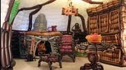 Торбодън - Домът на Билбо Бегинс, направен изцяло от балони