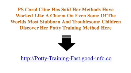 When To Start Potty Training, Three Day Potty Training, Potty Training Video, Age For Potty Training