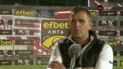 Акрапович: Трудно е срещу такива отбори, които играят агресивно