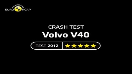 Volvo V40 Crash Tests 2012