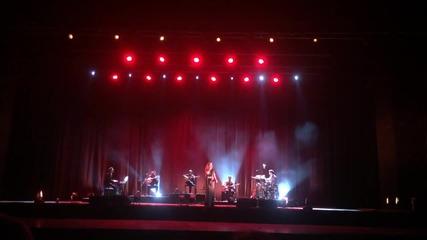 Концерт на Ана Моура в София, 29 октомври 2015 г., зала 1 на НДК