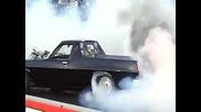 Зверски burnout палене на гуми