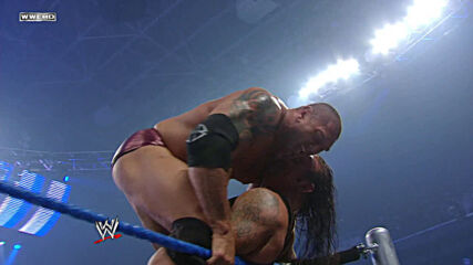 Undertaker vs. Batista - World Heavyweight Title No Disqualification Match: SmackDown, Apr. 25, 2008 (Full Match)