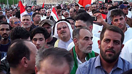 Iraq: Hundreds rally for jobs and better living conditions in Basra